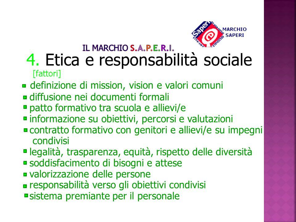 4. Etica e responsabilità sociale [fattori]